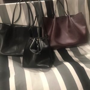3 for 1‼️Kelsi Dagger, H&M and leather tote. 💄👠
